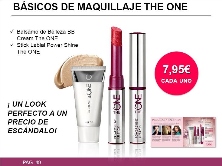 basicos de maquillaje the one