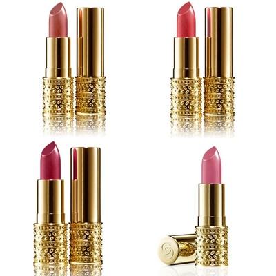 maquillaje de labios giordani gold