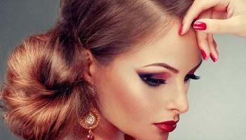 maquillaje de noche atrevido