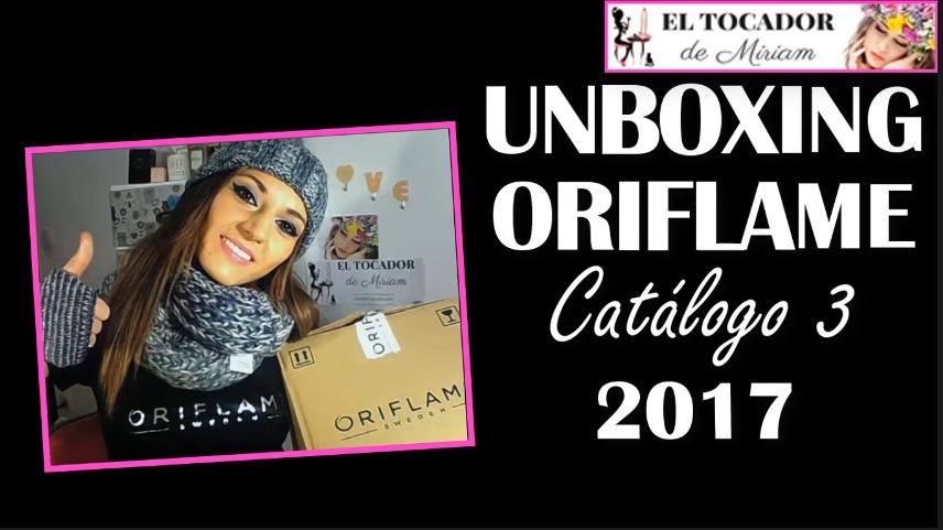 UNBOXING ORIFLAME 2017 CATÁLOGO 3