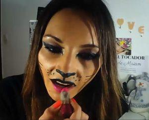 maquillaje labios gata
