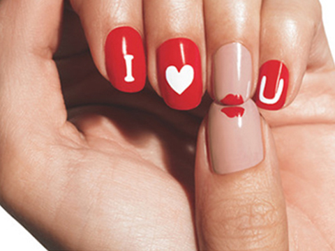 nail art san valentin