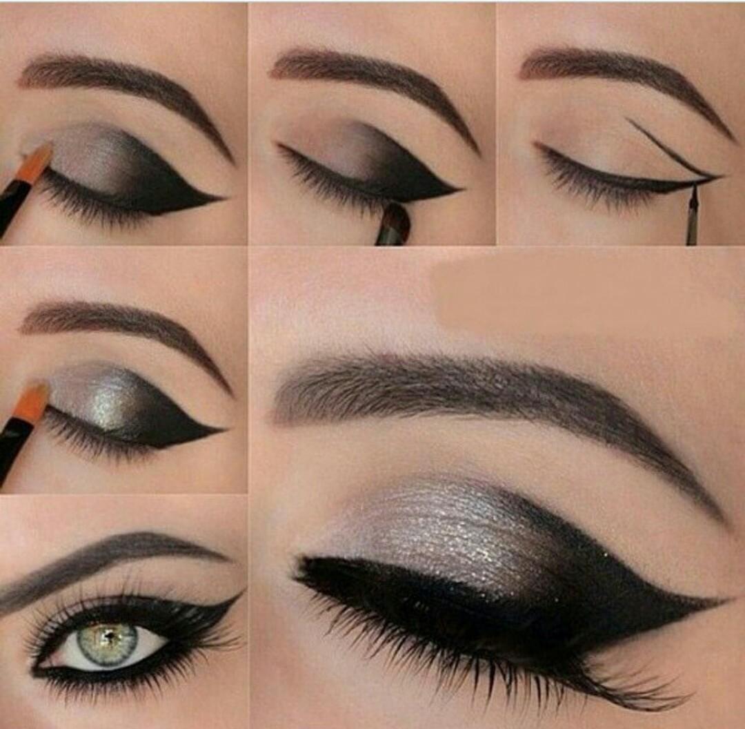 maquillaje ojos gata