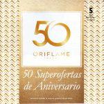 Folleto Especial Oriflame 2017 Catálogo 5 ¡50º ANIVERSARIO!