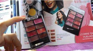 paleta labios pure colour