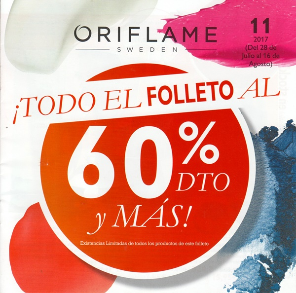 SUPER OFERTAS CATALOGO 11 ORIFLAME 2017