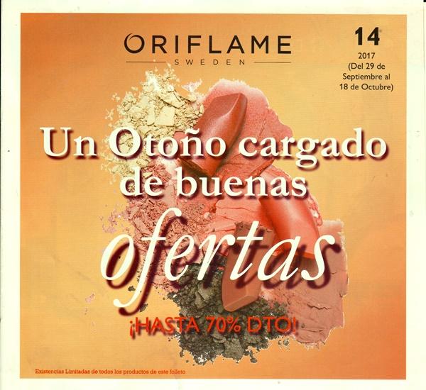 folleto especial ofertas oriflame catalogo 14 2017