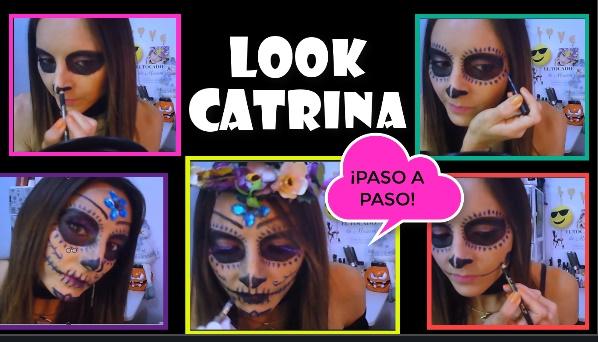 maquillaje catrina halloween