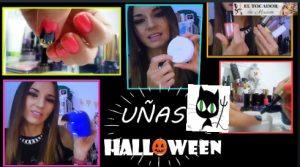 maquillaje de uñas halloween paso a paso faciles
