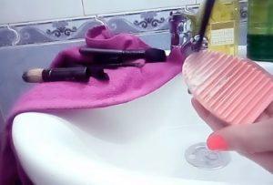 tips limpiar brochas