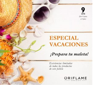 folleto especial ofertas catalogo 9 oriflame 2018