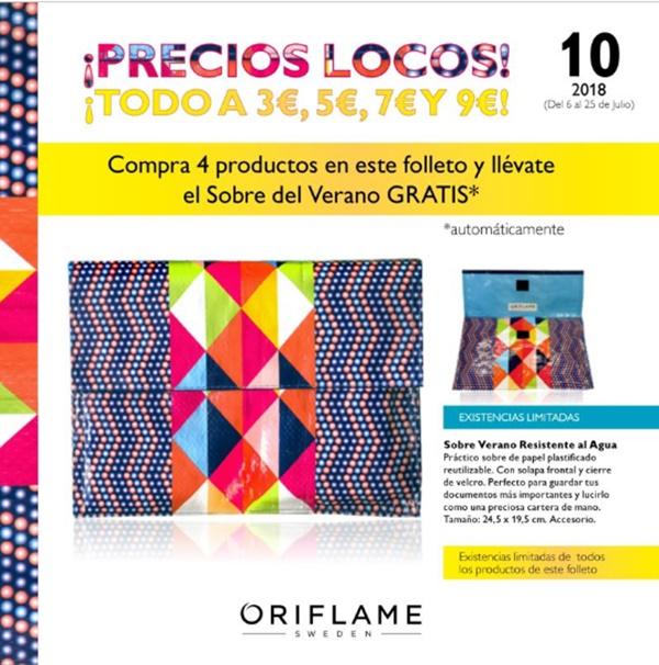 FOLLETO ESPECIAL OFERTAS ORIFLAME C10 2018
